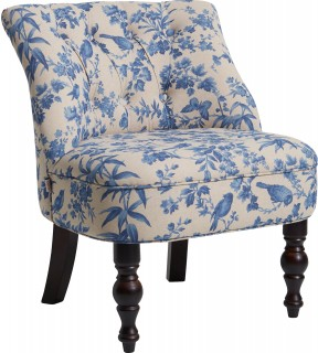 Amelia Cocktail Chair Blue by Oasis