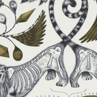 Emma J Shipley Extinct Wallpaper W0100/02