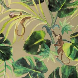 Clarke & Clarke Wallpaper Colony Monkey Business Collection W0083/02