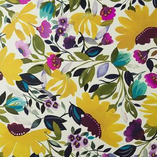 Clarke & Clarke Wallpaper Kim Parker Isabelles Garden Jumbo Collection W0069/01