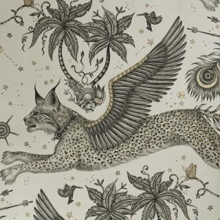 Lynx Wallpaper W0118/02 by Emma J Shipley