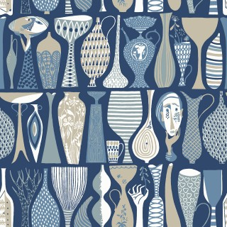 Boråstapeter Pottery Wallpaper 1759