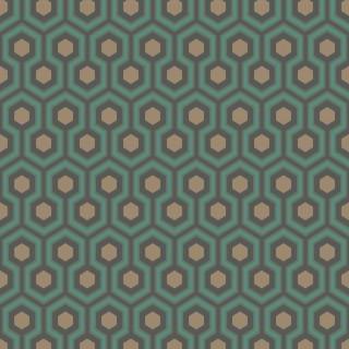 Hicks Hexagon Wallpaper 95/3018 by Cole & Son