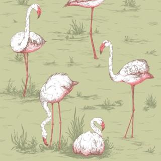 Cole & Son Flamingos Wallpaper 112/11038