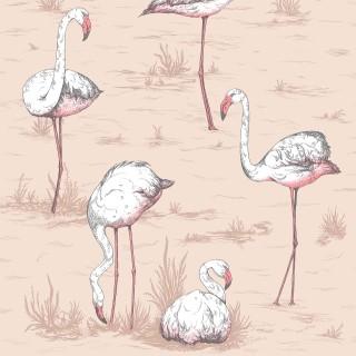 Cole & Son Flamingos Wallpaper 112/11039