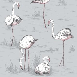 Cole & Son Flamingos Wallpaper 112/11040