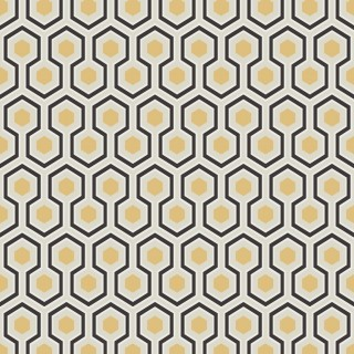 Hicks Hexagon Wallpaper 66/8056 by Cole & Son