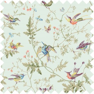 Hummingbirds Fabric F62/1004 by Cole & Son