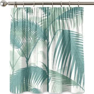 Palm Jungle Fabric F111/2005LU by Cole & Son