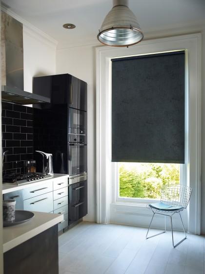 Decora Fabric Box Metz EasiCare Blackout Roller Blind