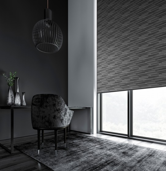 Decora Fabric Box Podium 89mm Vertical Blind
