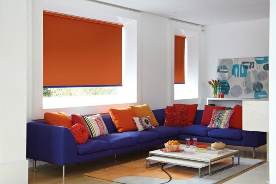 Decora Fabric Box Vitra Blackout Roller Blind
