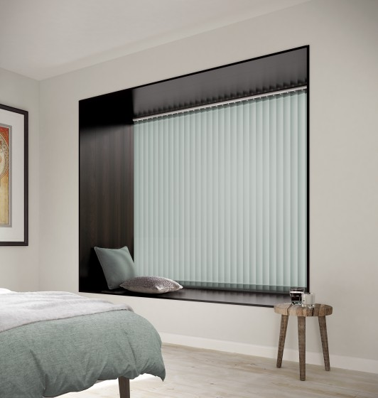 Decora Fabric Box Bexley 89mm Vertical Blind