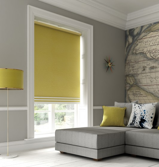 Decora Fabric Box Estella Blackout Roller Blind