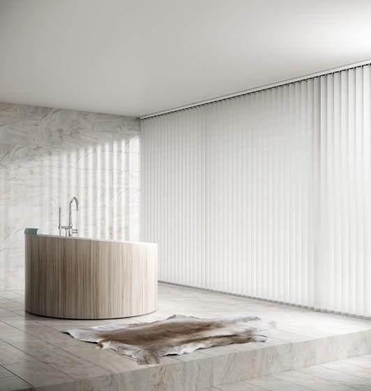 Decora Fabric Box Alessi 89mm Vertical Blind