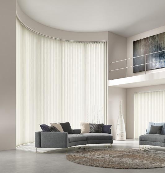 Decora Fabric Box Aria 89mm Vertical Blind