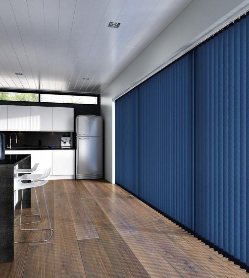 Decora Fabric Box Medina 89mm Vertical Blind