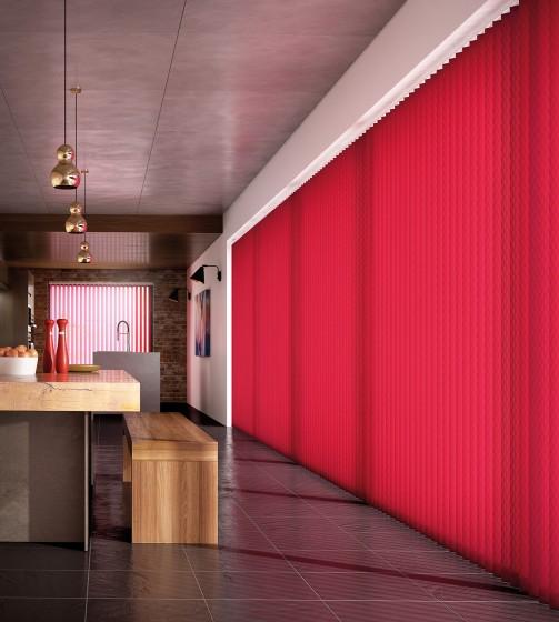 Decora Fabric Box Nera 89mm Vertical Blind