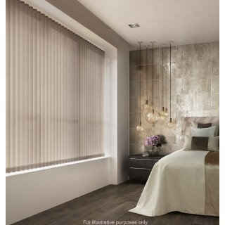 Decora Fabric Box Legacy 89mm Vertical Blind