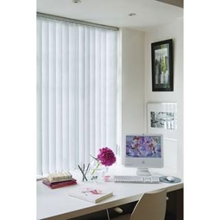Decora Fabric Box Unilux 89mm Vertical Blind