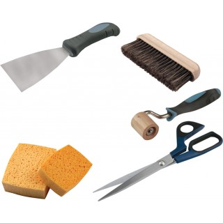Premium Wallpaper Decorating Tool Kit (Excluding Block Brush)