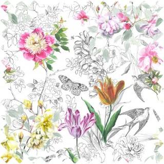 Designers Guild Jardin Des Plantes Sibylla Fabric Collection FDG2561/01