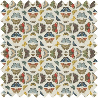 John Derian Mirrored Butterflies Fabric FJD6016/01