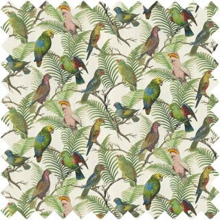 John Derian Parrot And Palm Fabric FJD6022/01