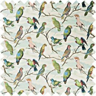 John Derian Parrot Aviary Fabric FJD6021/01
