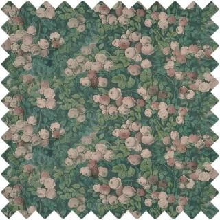 John Derian Rose Mosaic Fabric FJD6019/01