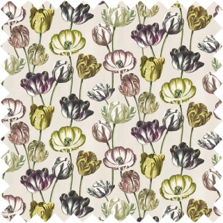 John Derian Variegated Tulips Fabric FJD6023/01
