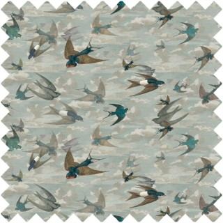 John Derian Chimney Swallows Fabric FJD6009/01