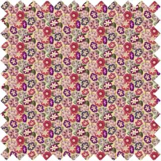John Derian Varietes De Gloxinia Fabric FJD6001/01