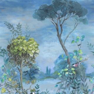 Designers Guild Giardino Segreto Scene 1 Panel Wallpaper PDG1056/01