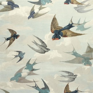 John Derian Chimney Swallows Wallpaper PJD6003/01