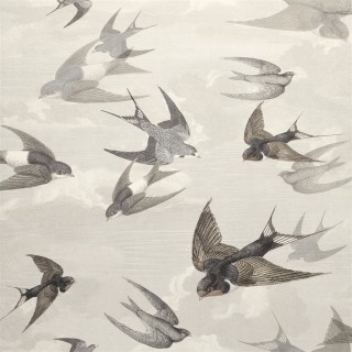 John Derian Chimney Swallows Wallpaper PJD6003/02