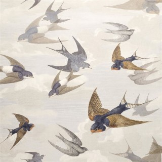 John Derian Chimney Swallows Wallpaper PJD6003/04