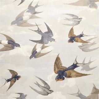 John Derian Chimney Swallows Wallpaper PJD6003/04