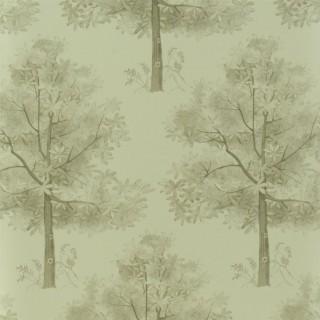 The Royal Collection Rosa Chinensis Arboretum Wallpaper PQ008/02