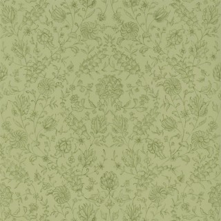 Flora Wallpaper PQ009/16 by The Royal Collection