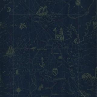 Ralph Lauren Searsport Map Wallpaper PRL5027/04