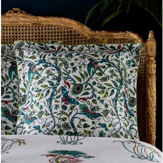 Jungle Palms Oxford Square Pillowcase M2068/01 by Emma J Shipley