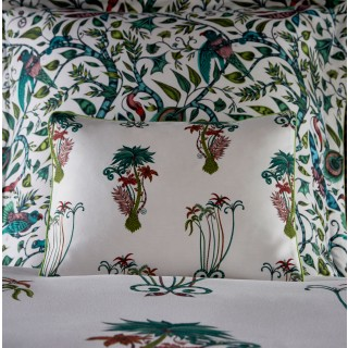 Jungle Palms Boudoir Pillowcase M2066/01 by Emma J Shipley