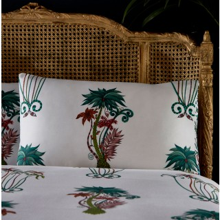 Jungle Palms Housewife Pillowcase M2055/01 by Emma J Shipley (Pair)