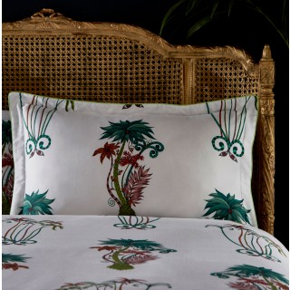 Jungle Palms Oxford Pillowcase M2067/01 by Emma J Shipley