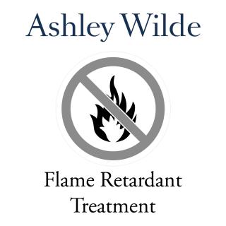 Ashley Wilde Flame Retardant Treatment for fabric