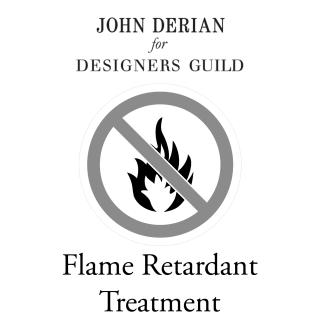 John Derian Flame Retardant Treatment for fabric