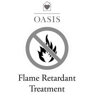 Oasis Flame Retardant Treatment for fabric