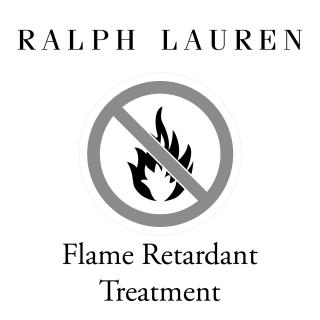 Ralph Lauren Flame Retardant Treatment for fabric