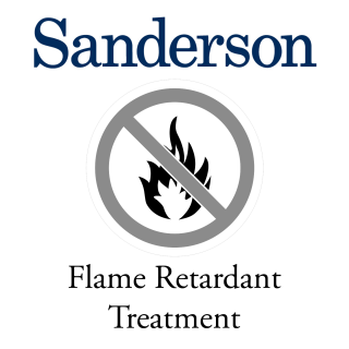 Sanderson Flame Retardant Treatment for fabric